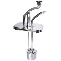 Cecilware 323KEC Deluxe Lever Chocolate Pump with Chrome Knob Assembly