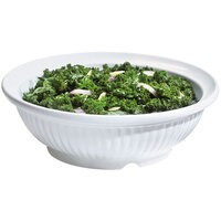 GET B-795-W Geneva 3 Qt. White Bowl - 3/Case