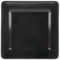GET ML-12-BK Milano 12 inch Black Square Plate - 12/Case