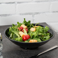 GET ML-78-BK Milano Black 32 oz. Bowl - 12/Case