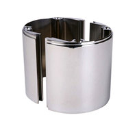 Beverage-Air 406-074A 4 inch Stainless Steel Riser for Direct Draw Units