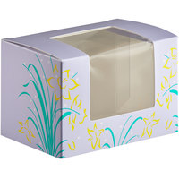Easter Egg Box 1 lb. Window Candy Box 5 1/2 inch x 4 inch x 3 1/2 inch   - 250/Case