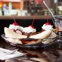 Anchor Hocking 561G 8.25 oz. Crystal Banana Split Dish - 12/Case