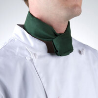 37 inch x 14 inch Hunter Green Neckerchief / Bandana