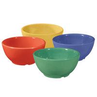 GET B-525-MIX Diamond Mardi Gras 16 oz. Melamine Bowl, Assorted Colors - 24 / Case
