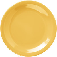 Carlisle 4385622 Honey Yellow Dayton 5 5/8 inch Melamine Bread & Butter Plate - 48/Case