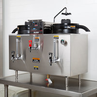bunn 20500 0001 u3 twin 3 gallon coffee machine urn 120 240v rh webstaurantstore com Yamaha U3 Yamaha U3 Piano