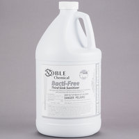 1 Gallon Noble Chemical Bacti-Free Third Sink Sanitizer - Ecolab&#174&#x3b; 17708 Alternative