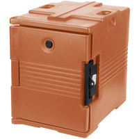 Cambro UPC400SP157 Camcarrier Coffee Beige Pan Carrier with Security Package