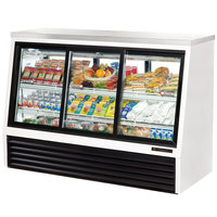 True TSID-72-6 Single Duty Six Door Refrigerated Deli Case - 24 Cu. Ft.