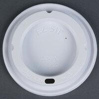 Dinex DX30008775 Turnbury White Disposable EZ Sip Lid for Dinex DX3000 Turnbury 8 oz. Insulated Pedestal Based Mug and DX3200 Turnbury 5 oz. Insulated Pedestal Based Bowl - 1000 / Case