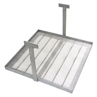Frymaster 1064136 14 inch x 14 inch Sediment Tray for HD50, HD50G, SM50, and D50G Fryers