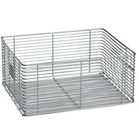 Waring 030300 10 1/4 inch x 4 inch x 4 3/4 inch Twin Fryer Replacement Basket without Handle