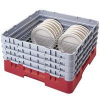 Cambro CRP20910163 Red Full Size PlateSafe Camrack 9-10 1/4 inch