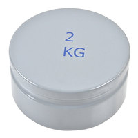 Edlund W0944M Series II Scale Weight for Metric Bakers Dough Scales - 2 kg