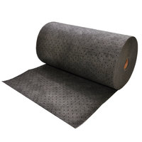 Spilfyter DB-90 Universal Gray Heavy Weight Absorbent Roll - 32 inch x 150'