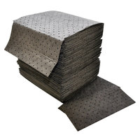 Spilfyter DB-75 Universal Gray Heavy Weight Absorbent Pad - 100/Case