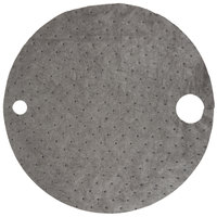 Spilfyter G-76 Universal Black Heavy Weight Absorbent Drum Top   - 25/Case