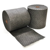 Spilfyter DB-91 Universal Gray Heavy Weight Absorbent Roll - 2/Case