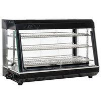 Avantco HDC-36 36 inch Self Service 3 Shelf Countertop Heated Display Warmer with Sliding Doors - 110V, 1500W