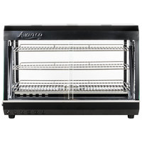 Avantco HDC-36 36 inch Self Service 3 Shelf Countertop Heated Display Warmer with Sliding Doors - 110V, 1500W