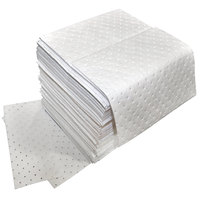 Spilfyter Z-75 Oil Only White Heavy Weight Absorbent Pad - 100/Case