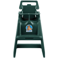 Koala Kare KB103-06 Classic High Chair with Wheels - Green