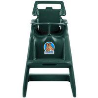 Koala Kare KB103-06 Classic High Chair with Wheels - Green