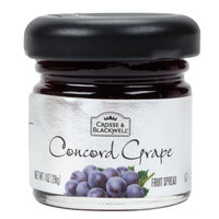 Crosse & Blackwell Concord Grape Fruit Spread - (72) 1 oz. Glass Jars / Case