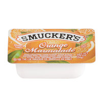 Smucker's Orange Marmalade - (200) .5 oz. Portion Cups / Case