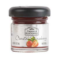 Crosse & Blackwell 1 oz. Coastal Strawberry Fruit Spread - 72/Case