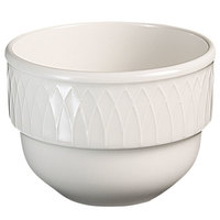 Homer Laughlin 8856900 Kensington 7 oz. Bright White Stackable Bouillon - 36 / Case