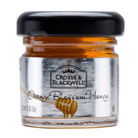 Crosse & Blackwell Orange Blossom Honey - (72) 1.1 oz. Glass Jars / Case   - 72/Case