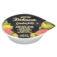 Dickinson's Guava Jelly .5 oz. Portion Cups - 200/Case