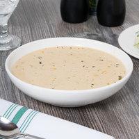 Homer Laughlin 20266800 Ameriwhite Alexa 27 oz. Bright White China Soup Bowl - 12/Case