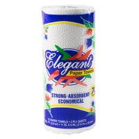 Elegant 2-Ply Paper Towel Roll - 30/Case