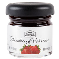 Crosse & Blackwell Strawberry Balsamic Fruit Spread - (72) 1 oz. Glass Jars / Case