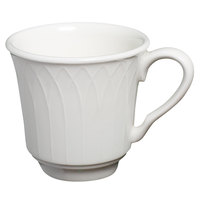 Homer Laughlin 8966900 Kensington 3 oz. Bright White Tea Cup - 12 / Case