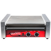 Avantco RG1830 30 Hot Dog Roller Grill with 11 Rollers - 120V, 910W