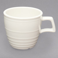 Homer Laughlin 13029200 Flipside 12 oz. Ivory (American White) Tall China Cup - 36/Case