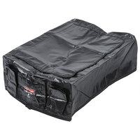 Rubbermaid 1889863 Small Black Cover for 4 Bushel Collapsible X-Carts