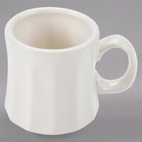 Homer Laughlin 13900 9 oz. Ivory (American White) Tower China Mug - 36/Case