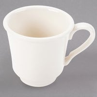 Homer Laughlin 11000 7.5 oz. Ivory (American White) Hancock China Cup - 36/Case