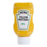 Heinz 13 oz. Upside Down Squeeze Bottle Yellow Mustard