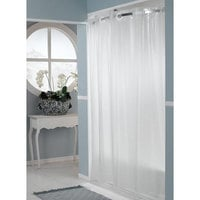 It's A Snap! HBH14SL0957 Frost PEVA One PLANET Shower Curtain Liner with Magnets - 70 inch x 57 inch