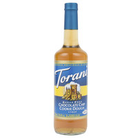 Torani 750 mL Sugar Free Chocolate Chip Cookie Dough Flavoring Syrup