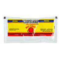 Louisiana 7 Gram Hot Sauce Portion Packet   - 200/Case