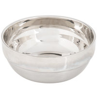 American Metalcraft SDWB45 10 oz. Round Double Wall Stainless Steel Serving Bowl