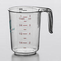 WebstaurantStore 1 Cup Clear Polycarbonate Measuring Cup