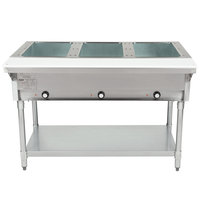 Eagle Group DHT3 Open Well Three Pan Electric Hot Food Table - 208V